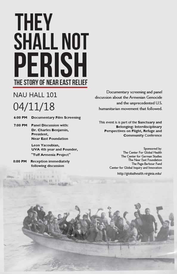 """They Shall Not Perish"" Film Screening and Discussion"