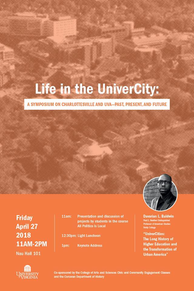 Life in the UniverCity Symposium