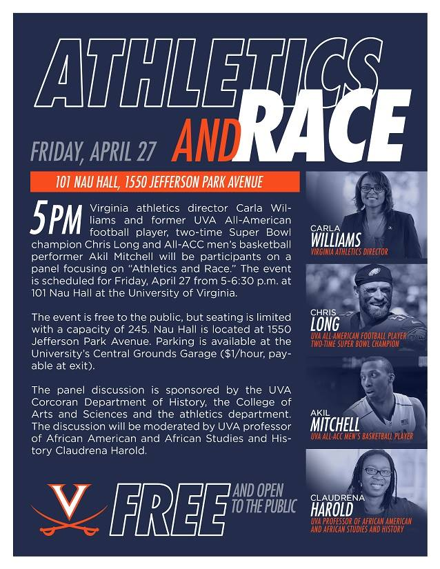 Athletics and Race at UVa Panel