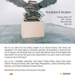 Roundtable on Memory, Responsibility, & Transformation