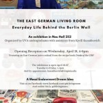 Opening Reception for East German Living Room Museum